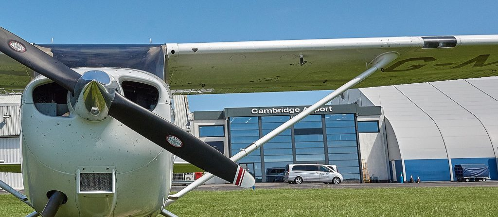 Hangarage & Parking | General Aviation | Cambridge City Airport