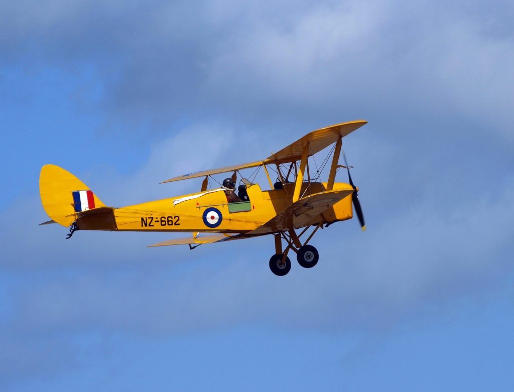 Tiger Moth | Learn to Fly | Flying Lessons | General Aviation | Cambridge City Airport