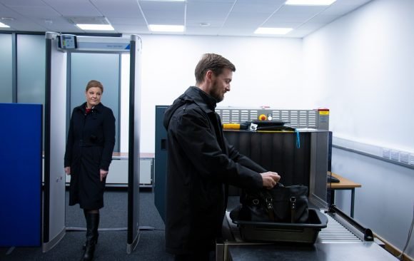 Cambridge FBO offers early baggage scanning