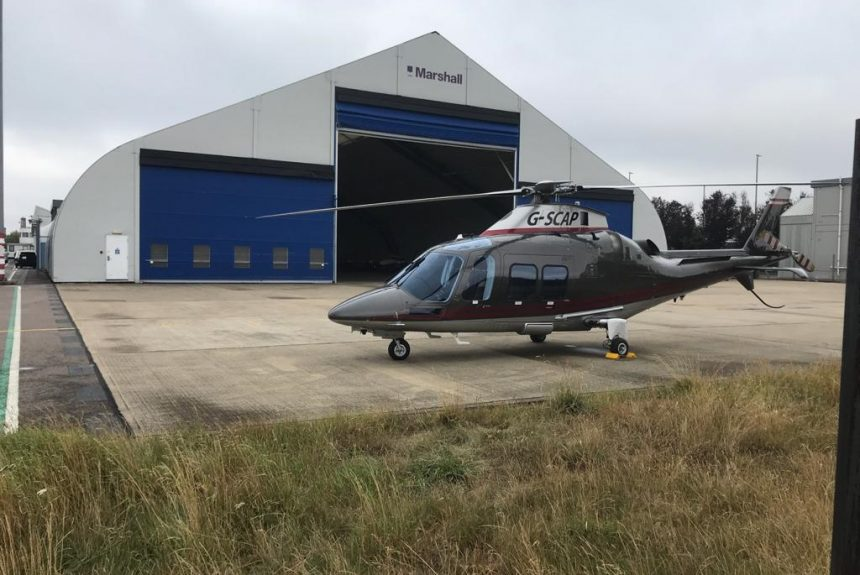 Cambridge Airport signs up leading VIP helicopter charter service