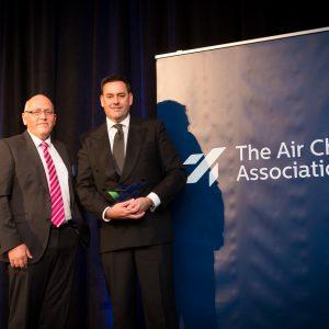 Awarding The Sir Michael Marshall Award for Sustainability in Aviation